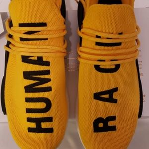 Adidas nmd human race yellow 9.5